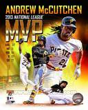 Andrew Mccutchen 2013 National League MVP Portrait Plus Photo