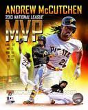 Andrew Mccutchen 2013 National League MVP Portrait Plus Photo
