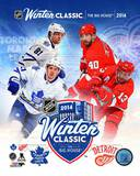 Toronto Maple Leafs Vs. Detroit Red Wings 2014 NHL Winter Classic Match-up Composite Photo