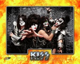 Kiss- Tommy Thayer, Paul Stanley, Eric singer, & Gene Simmons Photo