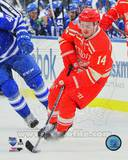 Detroit Red Wings Gustav Nyquist 2014 NHL Winter Classic Action Photo