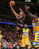 Chicago Bulls Derrick Rose 2013-14 Action Photo