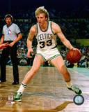 Boston Celtics Larry Bird Action Photo
