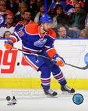 Edmonton Oilers Luke Gazdic 2013-14 Action Photo