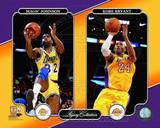 Magic Johnson & Kobe Bryant Legacy Collection Photo