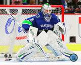 Vancouver Canucks Eddie Lack 2013-14 Action Photo