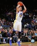 Golden State Warriors Seth Curry 2013-14 Action Photo