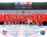 Detroit Red Wings Team Photo 2014 NHL Winter Classic Photo