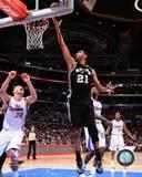 San Antonio Spurs Tim Duncan 2013-14 Action Photo