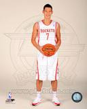 Houston Rockets Jeremy Lin 2013-14 Posed Photo