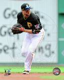 Neil Walker Game 4 of the 2013 NLDS Action Photo