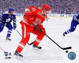 Pavel Datsyuk 2014 NHL Winter Classic Action Photo