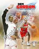 Chicago Bulls Ben Gordon - 2004 6th Man Portrait Plus Photo