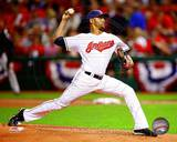 Danny Salazar 2013 Action Photo