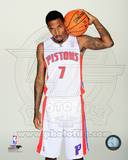 Detroit Pistons Brandon Jennings 2013-14 Posed Photo
