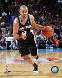 San Antonio Spurs Tony Parker 2013-14 Action Photo
