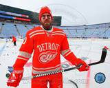 Detroit Red Wings Henrik Zetterberg 2014 NHL Winter Classic Action Photo