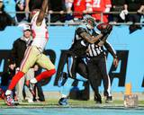 Steve Smith 2013 Playoff Action Photo