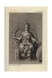 Roma, Goddess of the City of Rome Giclee Print