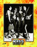 Kiss- Paul Stanley, Peter Criss, Gene Simmons, & Ace Frehley Photo