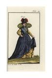 Noblewoman of Burgundy, 1577 Giclee Print