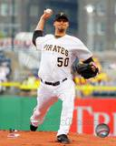Charlie Morton 2013 Action Photo