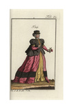 Woman of Alsace, 1577 Giclee Print