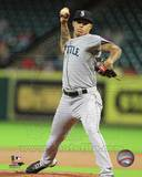 Taijuan Walker 2013 Action Photo