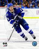 Tampa Bay Lightning Tyler Johnson 2013-14 Action Photo