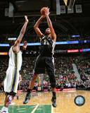 San Antonio Spurs Tim Duncan 2013-14 Action Photo