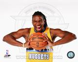 Denver Nuggets Kenneth Faried 2013-14 Posed Photo