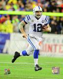 Andrew Luck 2013 Playoff Action Photo