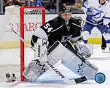 Los Angeles Kings Ben Scrivens 2013-14 Action Photo