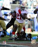 Frank Gore 2013 Playoff Action Photo