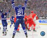 Toronto Maple Leafs James van Riemsdyk 2014 NHL Winter Classic Action Photo