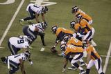 NFL Super Bowl 2014: Feb 2, 2014 - Broncos vs Seahawks - Peyton Manning Plakater av Charlie Riedel