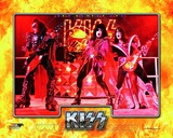 Kiss- Gene Simmons, Paul Stanley, & Ace Frehley Photo