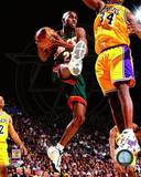 Seattle Sonics Gary Payton 1997-98 Action Photo