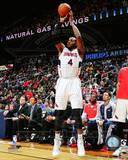 Atlanta Hawks Paul Millsap 2013-14 Action Photo