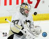 Pittsburgh Penguins Jeff Zatkoff 3013-14 Action Photo