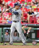 Jonathan Lucroy 2013 Action Photo