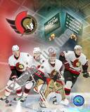 "Ottawa Senators '05 / '06 Senators - ""BIG 4"" Photo"