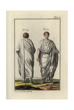Two Roman Men in Togas Giclee Print