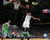 NBA Atlanta Hawks Paul Millsap 2013-14 Action Photo