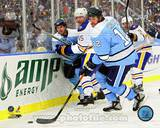 Pittsburgh Penguins Ryan Malone 2008 Winter Classic Action Photo
