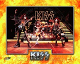 Kiss- Gene Simmons, Ace Frehley, Peter Criss, & Paul Stanley Photo