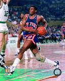 New York Knicks Bernard King 1987 Action Photo