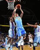 Denver Nuggets Timofey Mozgov 2013-14 Action Photo