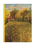 The New Yorker Cover - October 4, 1952 Regular Giclee Print by Ilonka Karasz