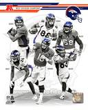 Denver Broncos 2013 AFC West Champions Team Composite Photo